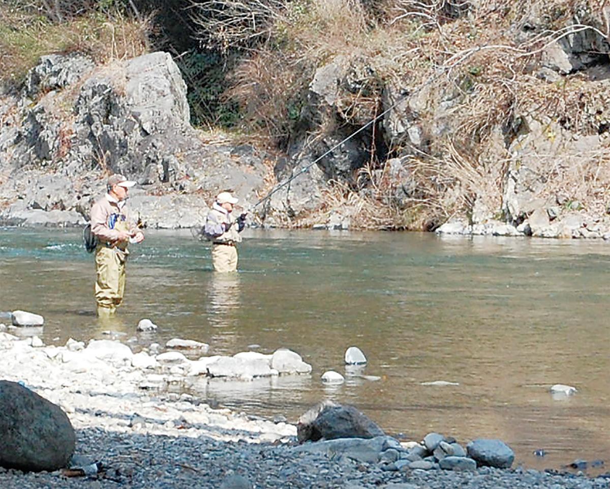 渓流釣り解禁