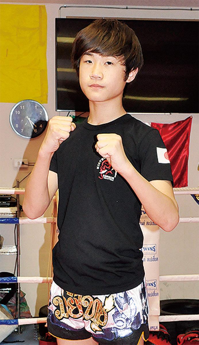 小林君が世界に挑戦