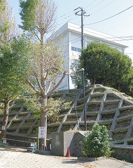 移転先となる横須賀の校舎(=佐野町)