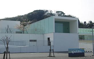 横須賀美術館の谷内六郎館(=市内鴨居)。作品は常設展示されている