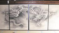 迫力の「雲龍図」襖絵