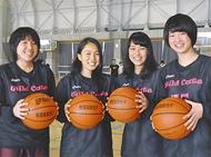 3人制バスケで全国へ