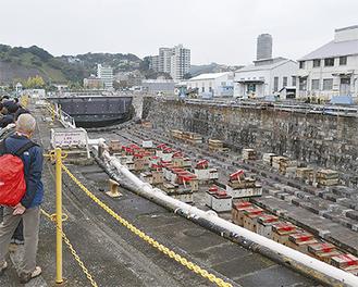 「現役」としては日本最古の1号ドック