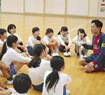 島田教諭を囲んで戦術を確認