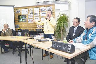 """15日に開かれた協会発足式。""""横須賀ジャズ""""に思いを寄せる人が約30人集まった"""