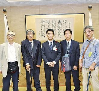 大会を前に主催団体が吉田市長を表敬訪問