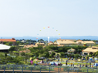観覧車は江の島からも視認できるという(完成イメージ)