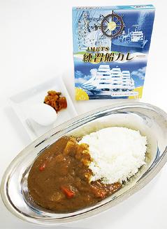 パッケージには浦賀で建造された「日本丸」の写真