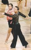 競技ダンスのプロが指導