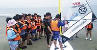 ウインドサーフィン体験スクール