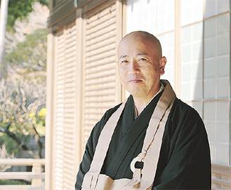 禅の法話や座禅指導を精力的に行う永井師