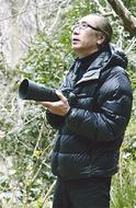 プロ写真家と大楠散策