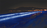 夜光虫の輝きを人工表現。逗子の観光新名物として人気を集める