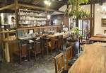 ▲大正時代の古民家を全面改修したカフェスペース