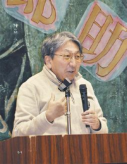 浦賀奉行所復元を熱く語る山本氏