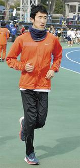 チームのキャプテンで、今年の箱根駅伝に出場した秋澤さん