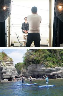 プロのカメラマンが出張(上)海上から景観を楽しむ(下)