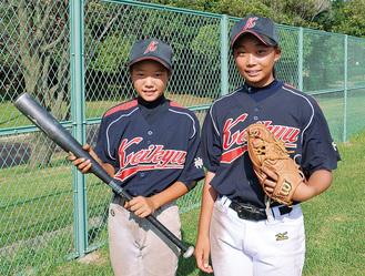 「オール京急」の奈良選手(右)と太刀川選手