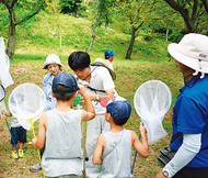親子で昆虫観察会