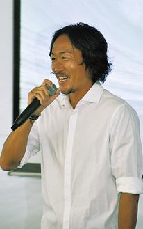 選手時代と今を語る石川さん