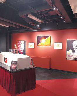 アナトミーアートの展示スペース
