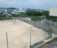 夏島グラウンド 供用開始