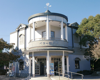 新たに展示物が加わったペリー記念館