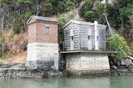 海から眺める歴史遺産