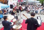 街中を音楽で溢れされる試み。上地市長の肝入りで始まった