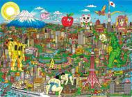 飛び出す世界の街並み