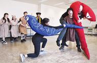 観音崎の「大蛇伝説」舞台化