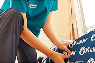 医療保険適用の訪問医療マッサージのサービスを提供しているKEiROWは全国で350店を展開する業界最大手チェーン。北久里浜ステーションは横須賀市、三浦市、葉山町を訪問エリアとしている