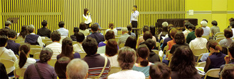 今月22日、市教育委員会主催の不登校フォーラム