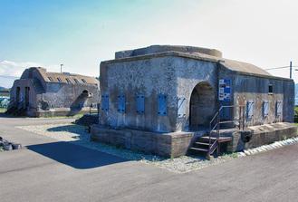 中断地の一つ、第三海堡遺横