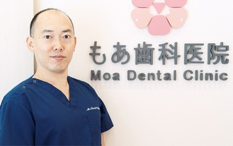 「医療は清潔な環境で」と田中院長