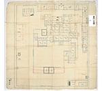 浦賀奉行所絵図(79.5×81.5cm)