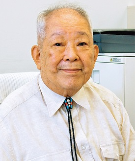 「横須賀高校100周年」の本紙インタビューで撮影(2008年)