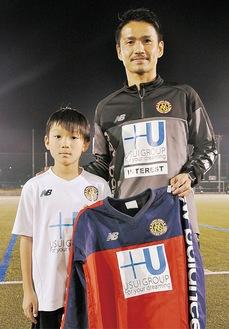 MVPの江上君(左)と谷口さん