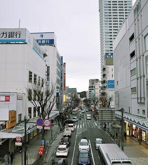 横須賀の中心地、中央地区でも再開発事業や商店街活性化の取り組みが進む
