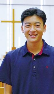 木村 優仁 さん(高校2年 サッカー部部長)
