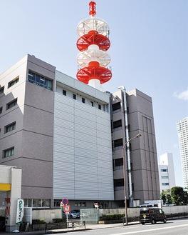NTT東日本のビル内の一角に開設