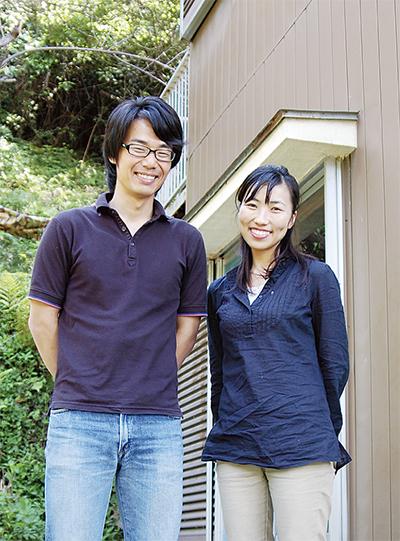 28歳 夫婦で若者サポート