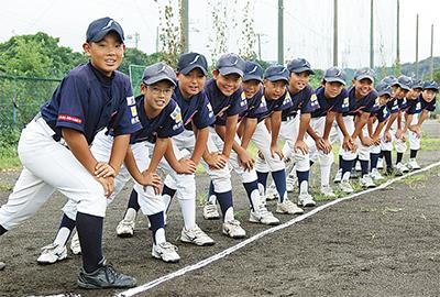 「全員野球」で県の舞台へ