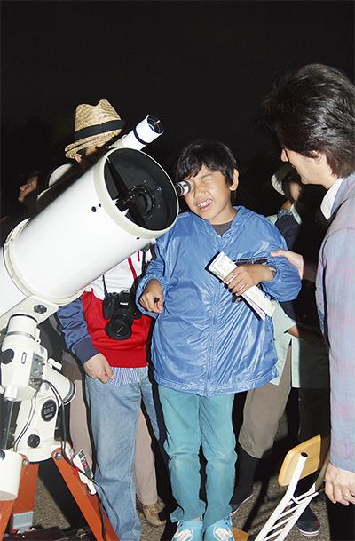 天体観測に熱視線