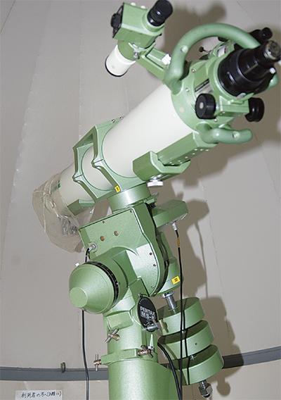 北下浦に「本格望遠鏡」のなぜ?