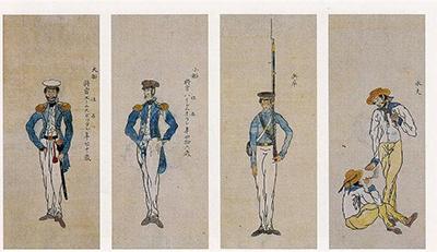 大津陣屋と川越藩士