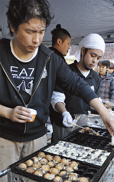 久里浜で「味」の競演