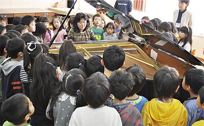 ピアノの響き 心に感じて