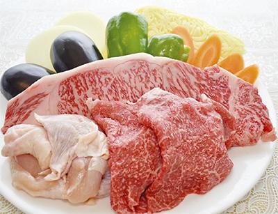 肉重視のBBQ(バーベキュー)セット