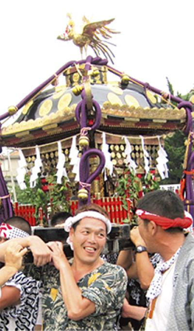 武「八坂神社」の夏祭り